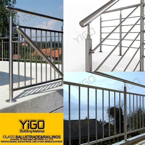 Stair Banisters For Sale by Outdoor Stair Railings Price Outdoor Metal Stair Railing Exterior Stair Railing For Whole Sale