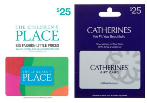 Who Has Gift Card Deals - expired amazon gift card lightning deals children s place catherine s