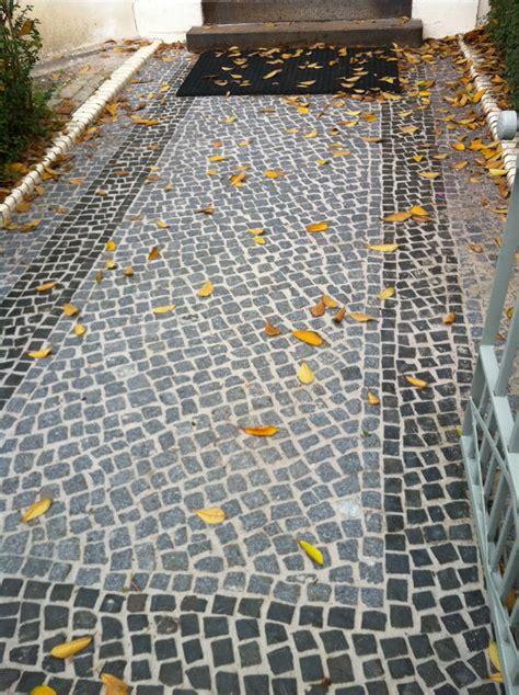 natursteinpflaster granit basalt mosaik berliner passe garden concepts