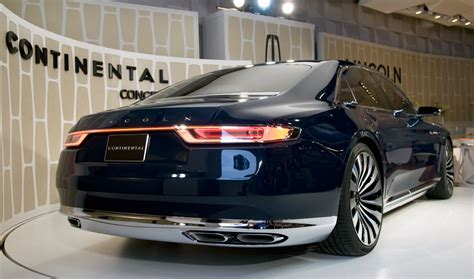 Lincoln Continental Prototype by Lincoln Continental Prototype Breaks Requires A Tow