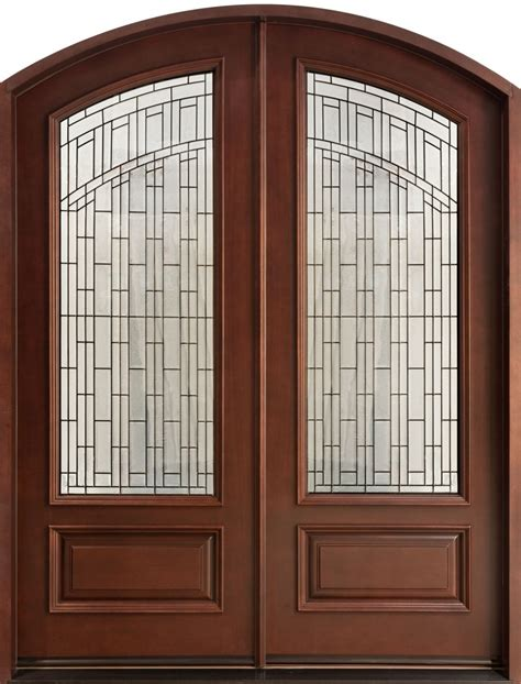 Wooden Entry Doors With Glass Furniture Lovely Entry Doors With Wooden And Frosted Glass Door Ideas Exterior