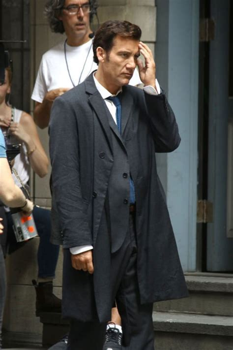 amanda seyfried clive owen amanda seyfried and clive owen on the set of quot anon quot tom
