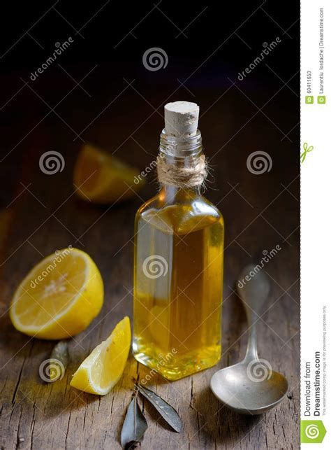 Lemon And Olive Detox by Liver Detox With Olive And Lemon Fruits Stock Photo