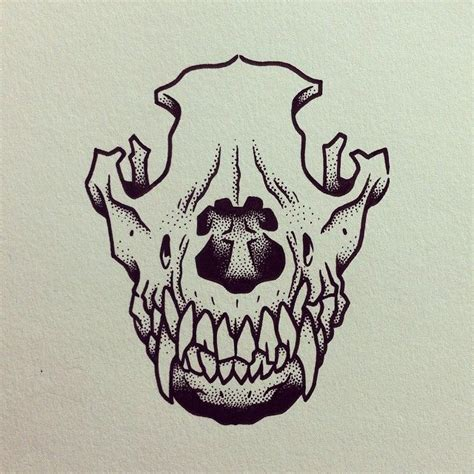 dog bone tattoo 25 best ideas about skull on