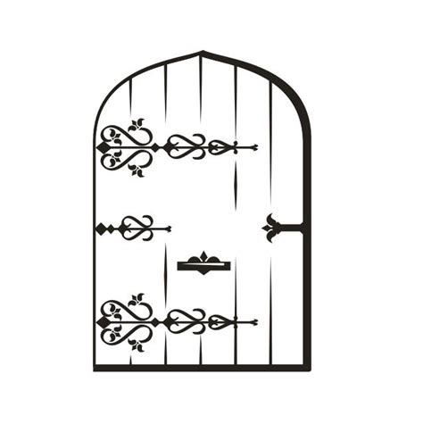 fairy door coloring page how to draw fairy door