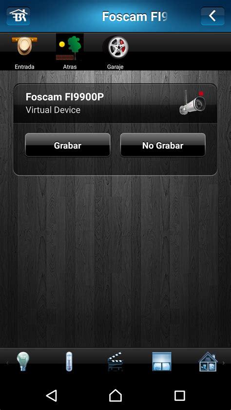 grabar camaras ip grabar c 225 mara ip foscam ordenado por fibaro home center alarma