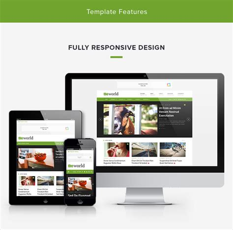 theme junkie the world theworld fresh magazine template site templates