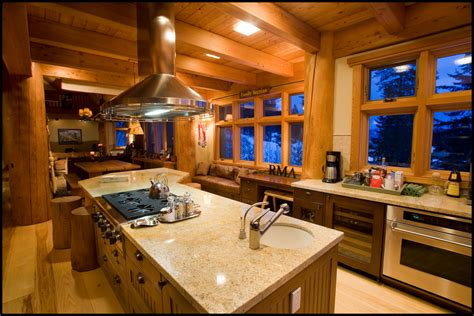 Rustic Cabin Kitchen Ideas ski house of the day ultimate ski house at red mountain