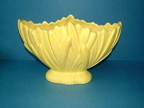 Yellow Flower Vase by 1950s Sylvac Primrose Yellow Flower Vase By Biminicricket