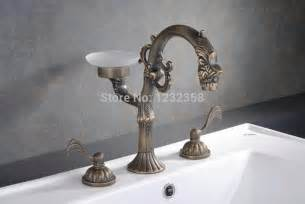 antique brass waterfall bathroom bath tub filler