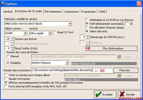 Format Cd Musique   ripper un cd de musique au format mp3