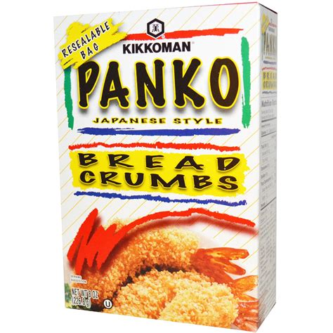 panko breadcrumb kikkoman panko bread crumbs 8 oz 226 8 g iherb