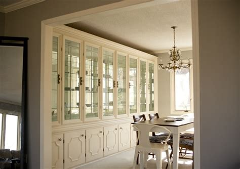 Built ins on Pinterest   Dining Room Cabinets, Built In Cabinets and Dining Rooms