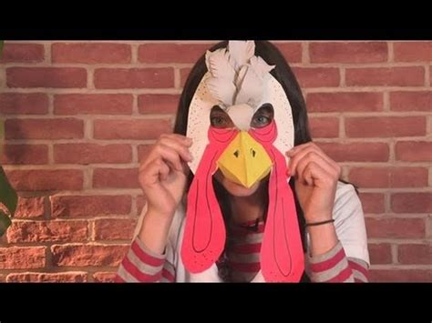 How To Make A Turkey Out Of A Paper Bag - how to make a turkey mask
