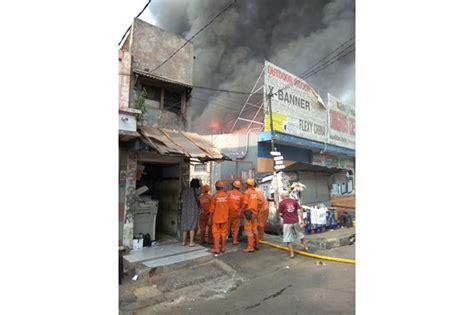Oven Gas Di Cawang kebakaran di cawang diduga dari kebocoran tabung