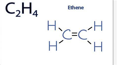 which electron dot diagram represents a polar molecule is c2h4 polar or nonpolar