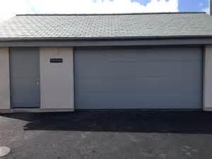 Garage Side Entry Door Hormann Large Ribbed Silk Grain Garage Door With Matching