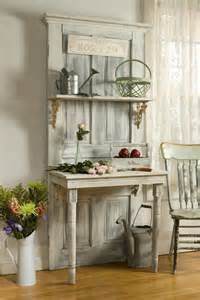 Repurposing Old Doors Pinterest Old Door Repurposed As A Desk And Shelf Pictures Photos