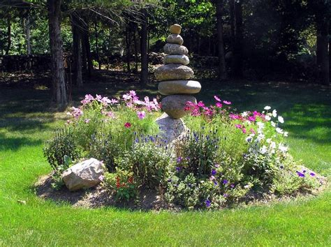 Garden Focal Point Ideas Focal Point Cairn Garden Yard Garden
