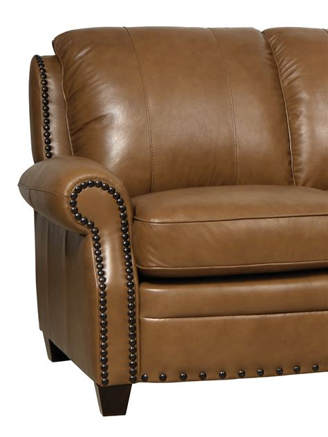 bennett leather sofa bennett wheat finish italian leather sofa luk bennett s