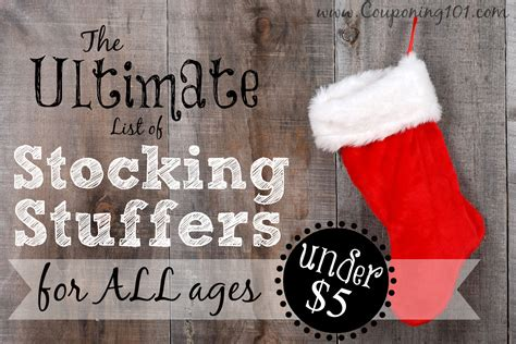 cool stocking stuffers ultimate list of stocking stuffers over 200 unique and