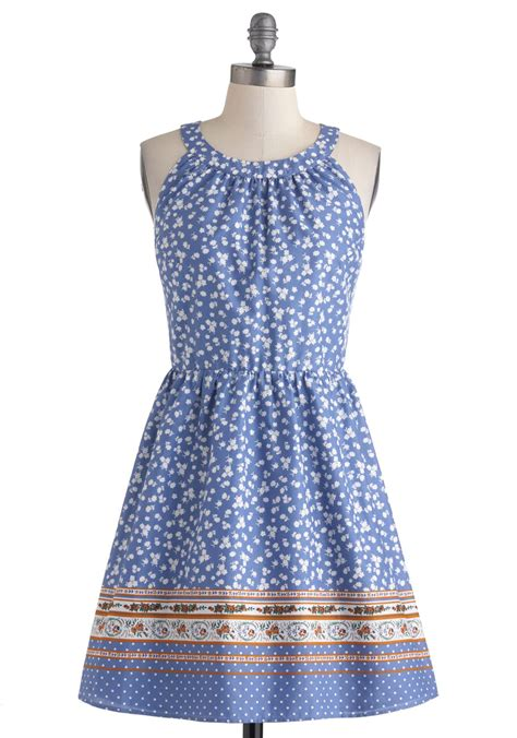 Country Dress cottage in the country dress mod retro vintage dresses