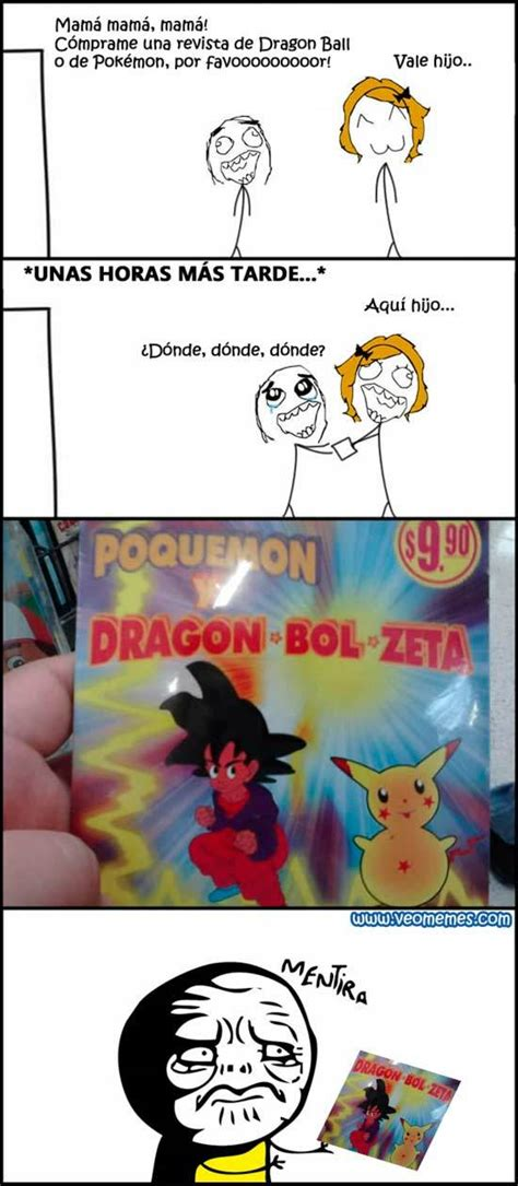 Memes De Pokemon - memes de dragon ball z imagenes chistosas