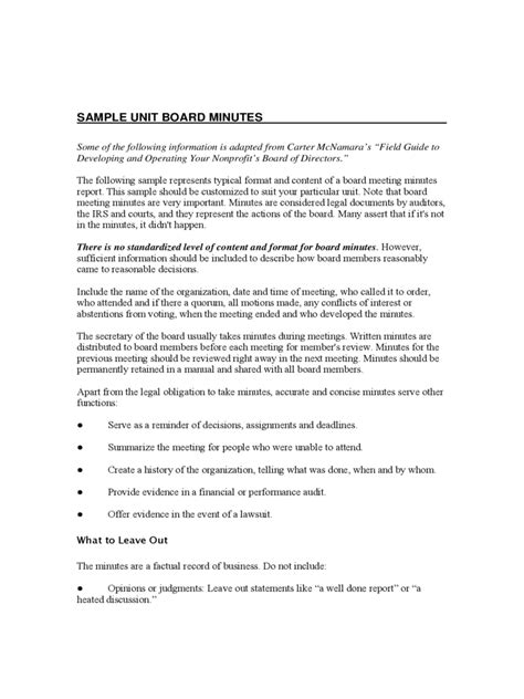 board meeting minutes template   templates   word excel