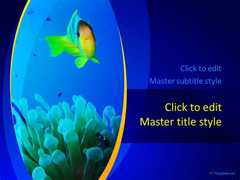 powerpoint themes sea free sea ppt template