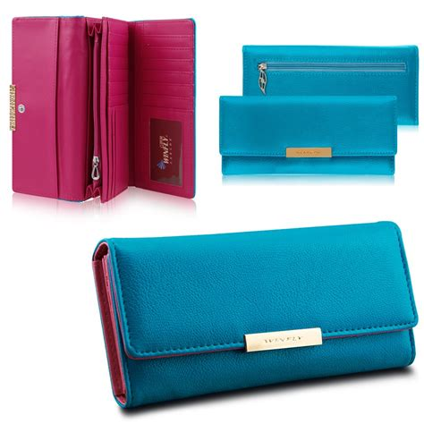 colorful wallets colorful new pu leather wallet button clutch purse