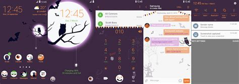 samsung galaxy themes live themes thursday halloween themes for your galaxy