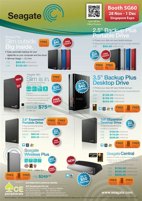 Promo Hdd Termurah 1tb Brand Seagate sitex 2013 sg expo 131128 seagate central wireless backup plus slim expansion desktop external