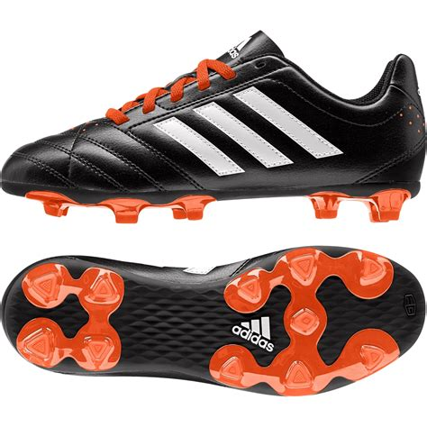 One Fg Black Orange adidas goletto v fg black orange boys junior football boots moulded studs ebay