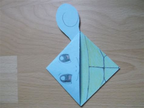 Origami Squirtle - 51 best images about diy corner bookmark page markers on