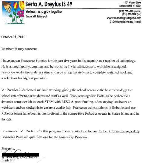 Reference Letter For A Bad Student Letters Of Recommendation Educator Fights Back