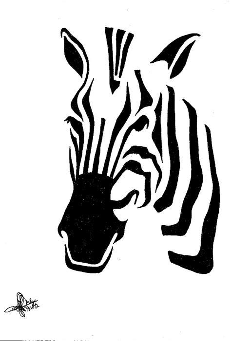 printable zebra print stencil zebra print stencil