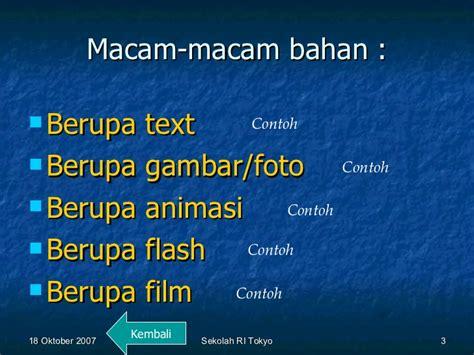 cara membuat presentasi berupa video cara membuat presentasi