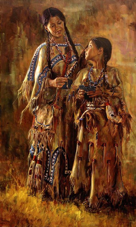 american indian painting 1709 b 228 sta bilderna om indians p 229 sitting bull