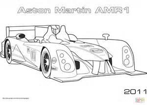 2011 aston martin amr1 coloring page free printable