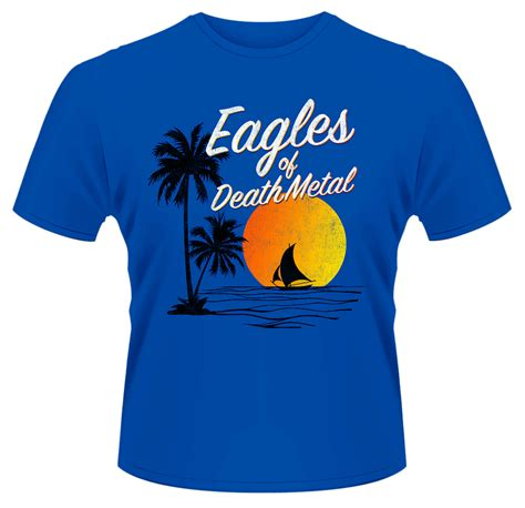 Tshirt Cac New Desain eagles of metal sunset t shirt new official