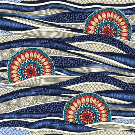 ethnic pattern art ethnic pattern styles art background vector 01 vector