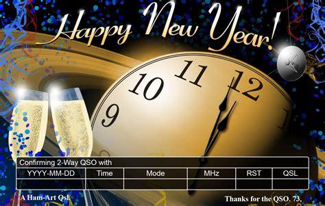 new year radio new year qsl designs kd0pnp ham radio