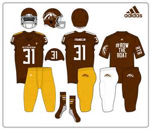 western michigan colors taylorc s college football redesigns 4 27 cincinnati