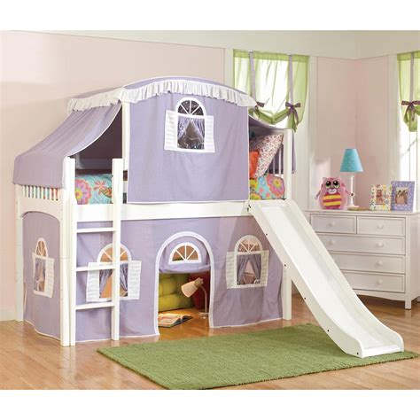 loft bed with tent windsor premier low loft tent bed bunk beds loft beds