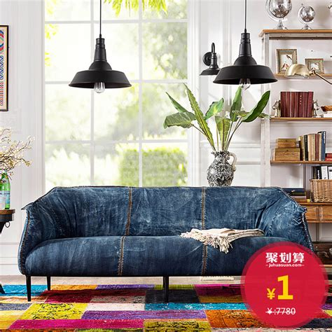 denim living room furniture brand troupe after modern vintage denim fabric living room