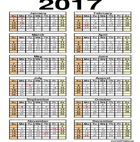 printable planner 2017 pdf printable 2017 calendar 2017 printable calendar daily