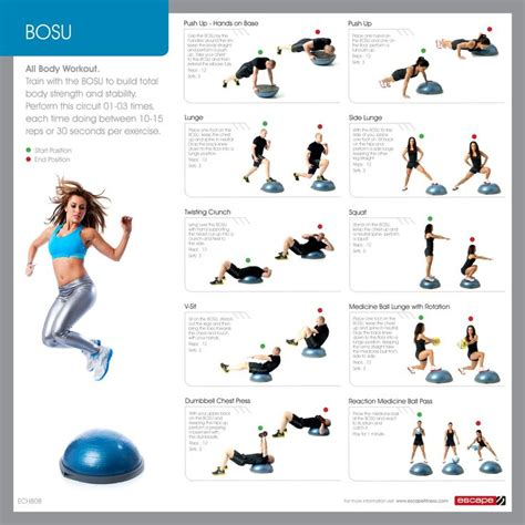 exercise the bosu and primal workout