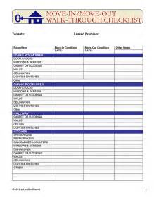 rental walk through template move in move out walk through checklist ez landlord