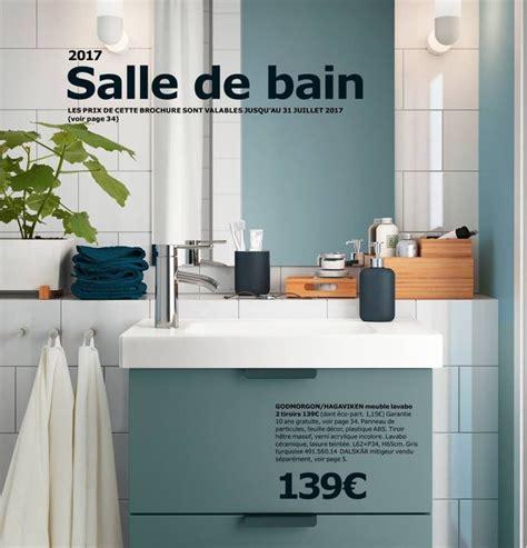 Meuble Salle De Bain Ikea Godmorgon by Salle De Bains Ikea Le Nouveau Catalogue 2017 Est En