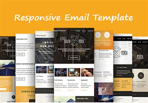 Design Responsive Email Template For 163 5 Azher Fivesquid Create Responsive Email Template